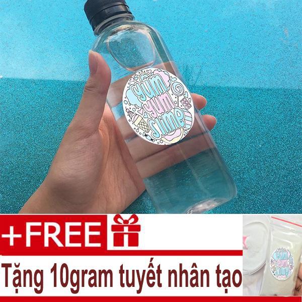 Hình ảnh Dung Dịch Làm Đông Slime Activator - Tặng Tuyết Nhân Tạo 10gram - Nguyên Liệu Làm Slime