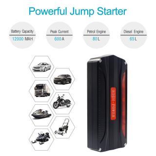 Kích bình oto kiêm sạc đa năng cho thiết bị di động - High Power 2.3, kích ắc quy ô tô kèm đèn pin + 4 cổng USB, đầu sạc đa năng điện thoại, laptop Cao cấp thumbnail