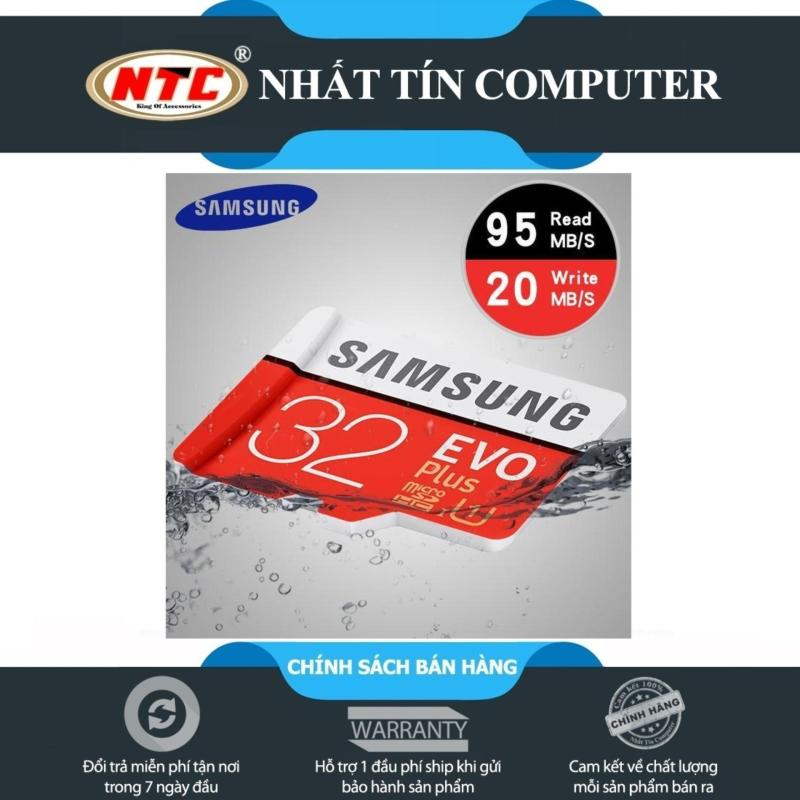 Thẻ nhớ MicroSDHC Samsung EVO Plus U1 32GB 95MB/s (New)