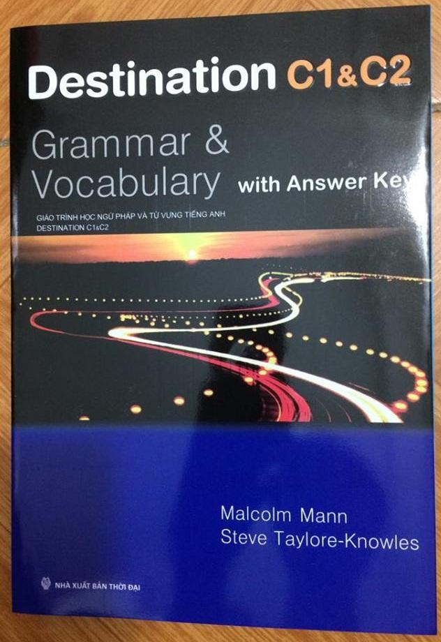 Mua Destination Grammar & Vocabulary with Answer Key C1 & C2