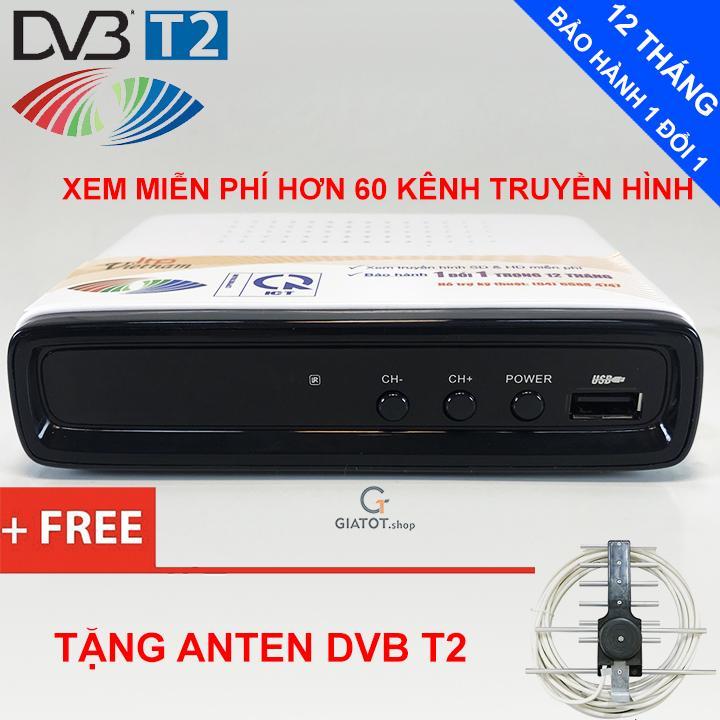 Bảng giá {Rẻ vô địch} Đầu thu kỹ thuật số DVB T2 LTP STB-1306 tặng Anten DVB T2 Điện máy Pico