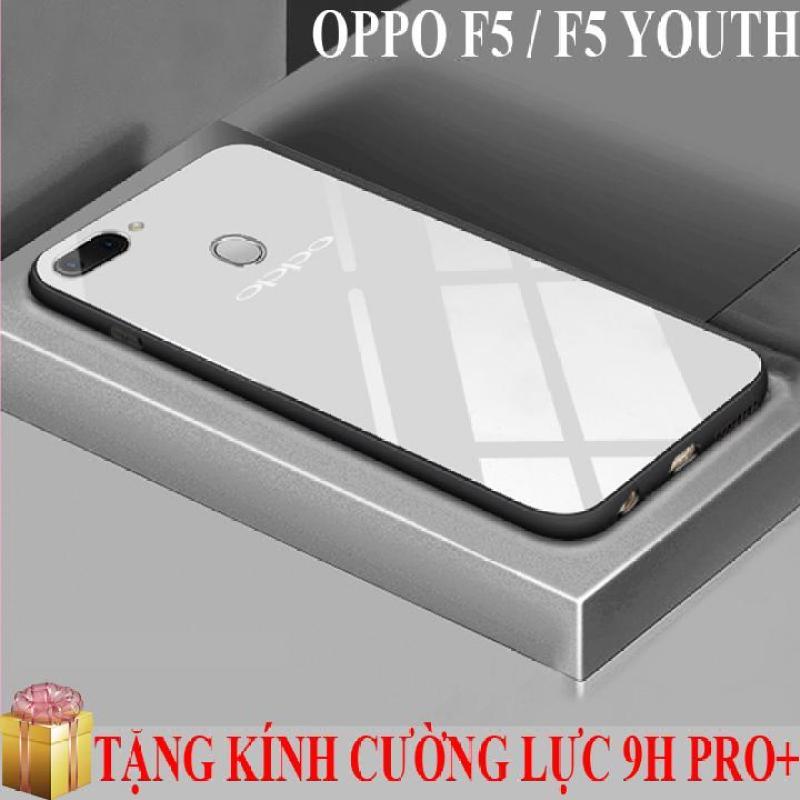 Giá Ốp lưng gương kính Oppo F5 / F5 Youth cao cấp + Tặng kính cường lực màn hình 9H Pro+
