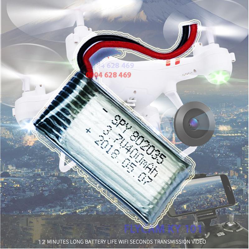 Hình ảnh Pin Flycam - Pin dự phòng của Máy bay chụp ảnh Flycam KY101