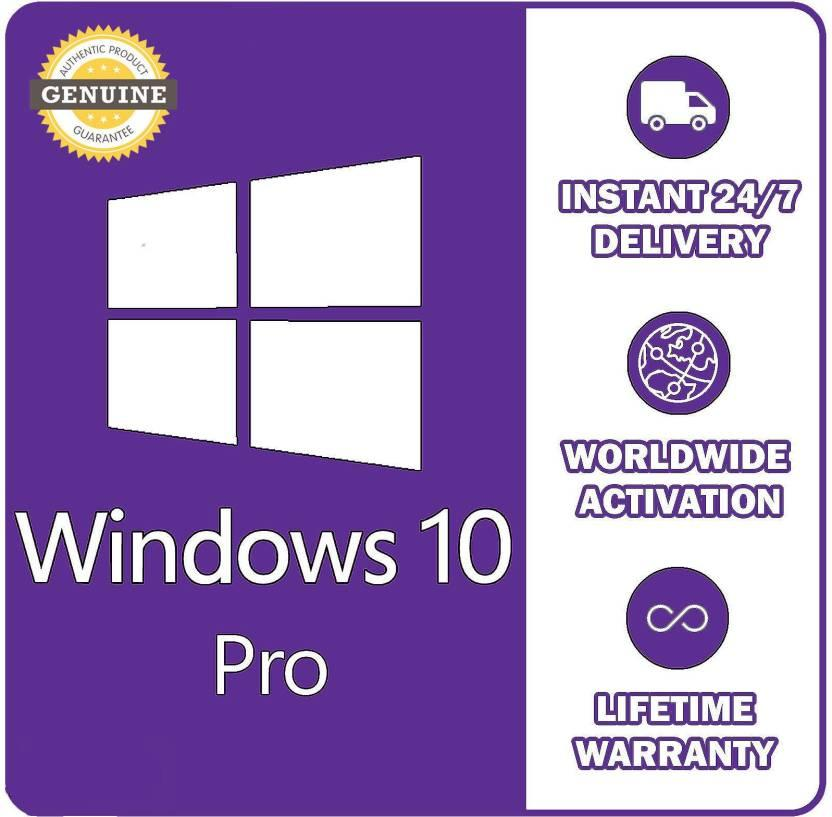 Hình ảnh Bản quyền Windows 10 Pro Sử dụng cho 1 máy tính trọn đời