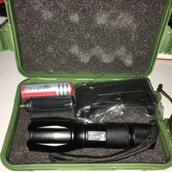 Bảng giá Đèn pin Police XML-T6 MỚI siêu sáng Tặng Bộ sạc và pin sạc - BH 1 ĐỔI 1