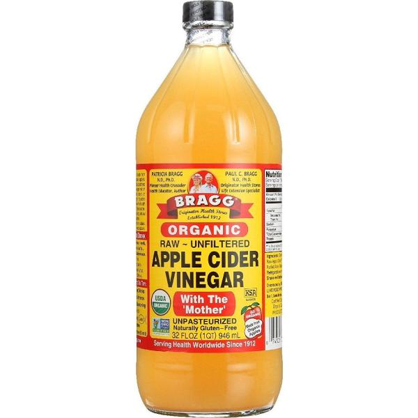Dấm táo hữu cơ Bragg 946ml