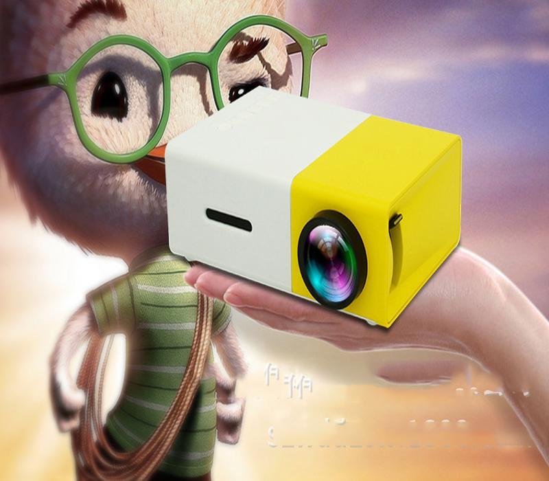 Hình ảnh Ban may chieu mini gia re,Máy chiếu màn hình LCD TFT HD1080 YG300 MINI LED, độ phân giải lớn, sắc nét, nhỏ gọn, tiện lợi, bảo hành 1 đổi 1 bởi Good 365.13,