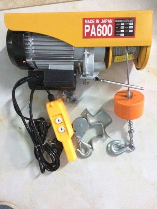 Tời điện PA600 vàng. tời điện mini L1