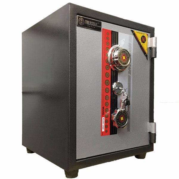 Hình ảnh két sắt chống cháy Treasury Bank KCC56( khoá cơ)