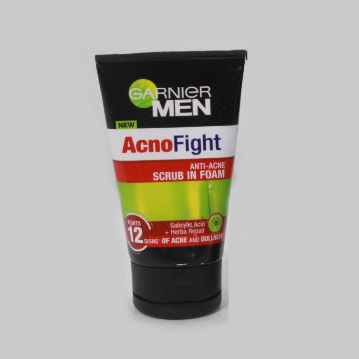 Sữa rửa mặt Garnier Men Acno Fight 100ml