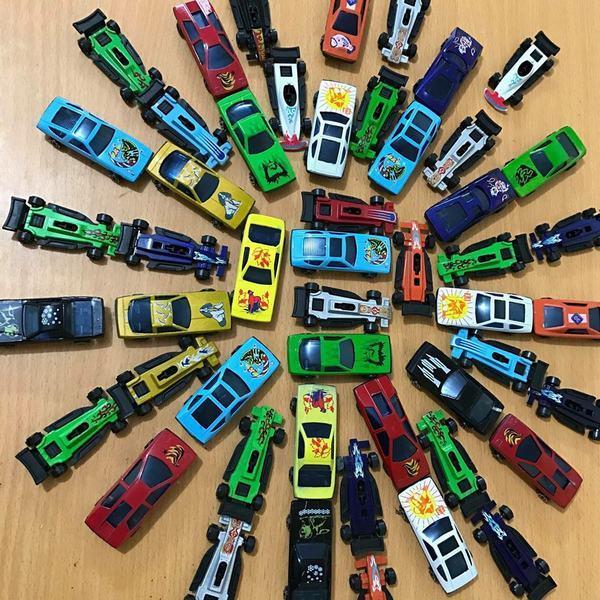 Hình ảnh Set 50 ô tô màu sắc mini cho bé