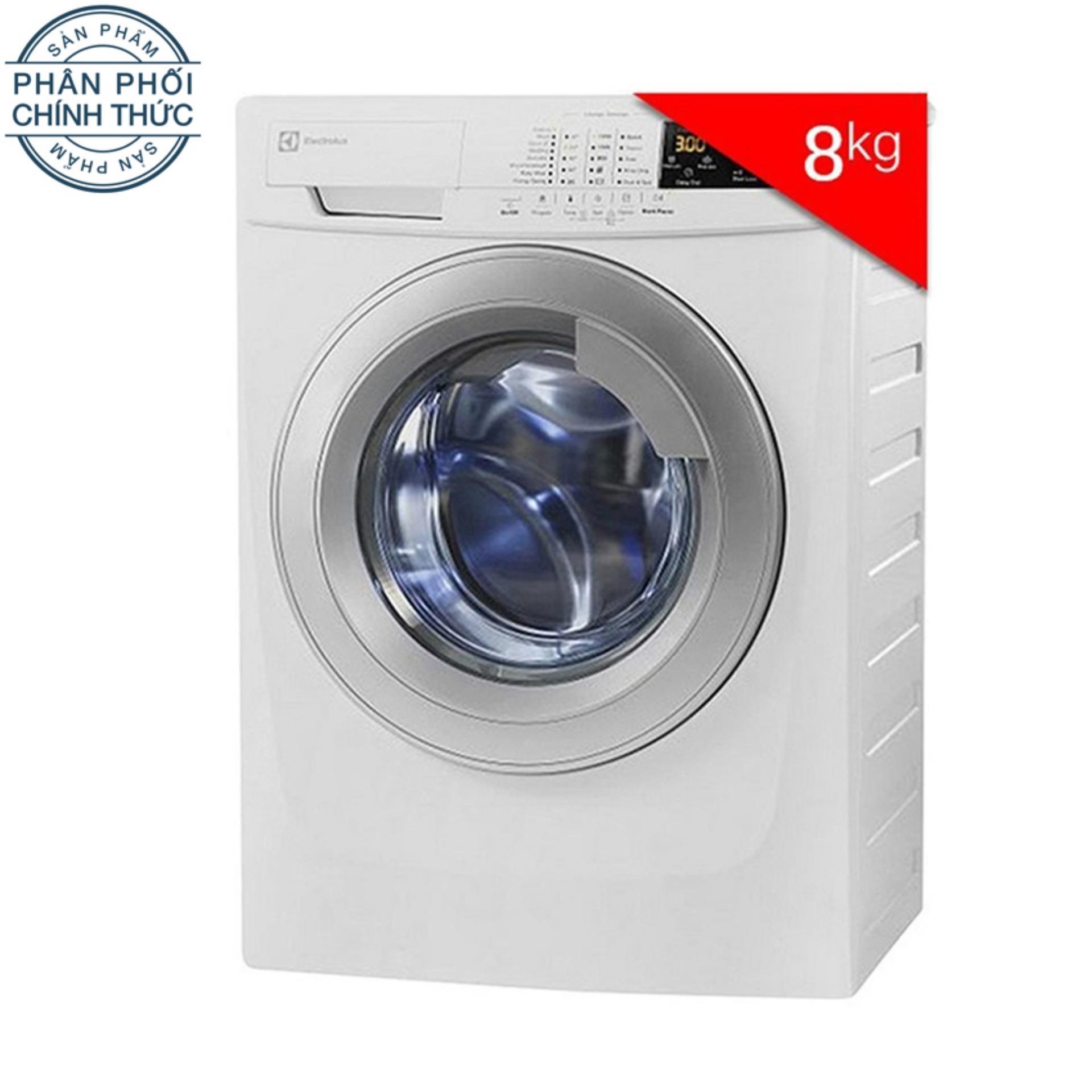 Hình ảnh Máy Giặt Cửa Trước Inverter Electrolux EWF10844 (8Kg) (Trắng)