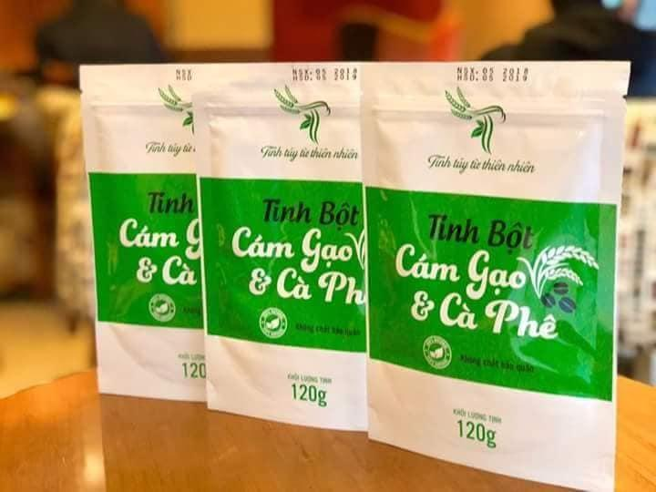 Cám gạo cà phê TT giá sỉ - Combo 10 bịch