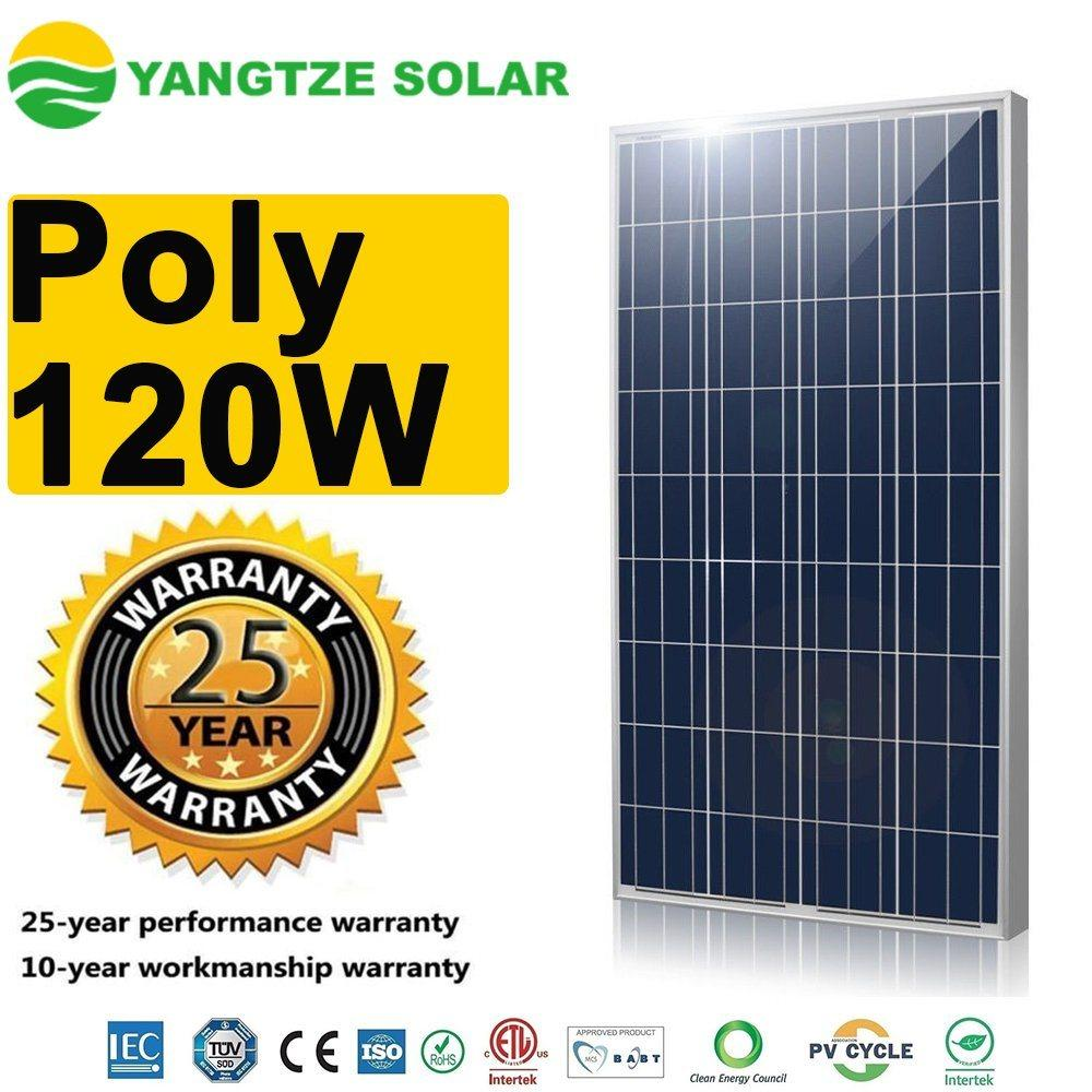 Pin năng lượng mặt trời  Solar poly 120w Newtech ARM