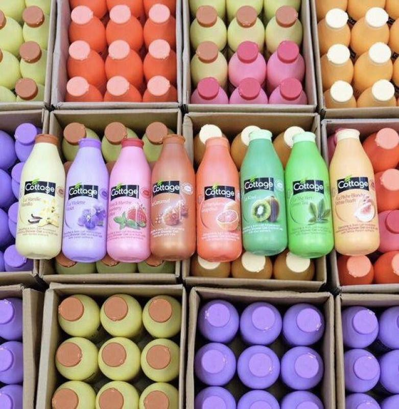 Sữa tắm dưỡng trắng da Cottage siêu hot (750ml) nhập khẩu