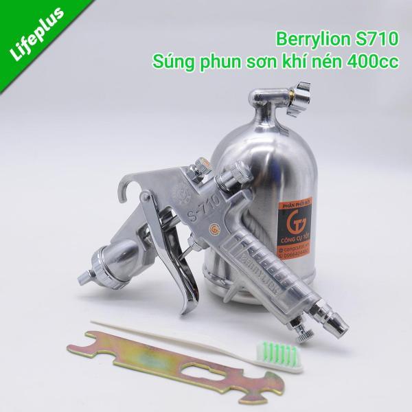 Dụng cụ phun sơn khí nén 400cc Berrylion S710