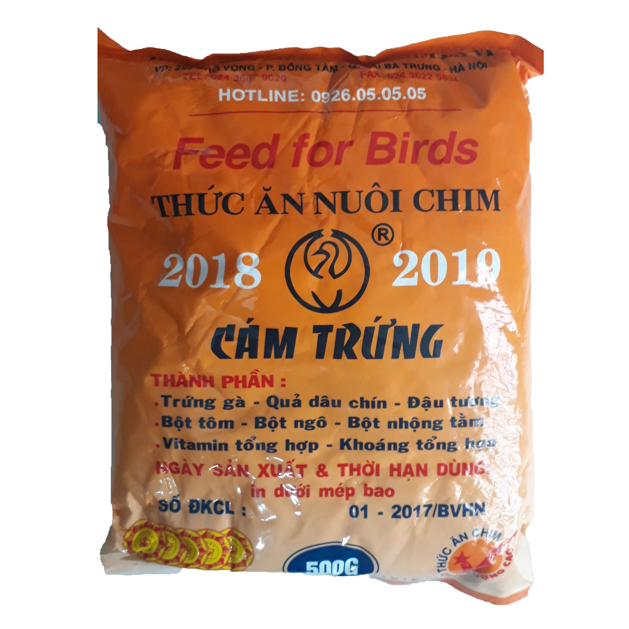 [HCM]Cám Trứng Ba Vì (Không Tem) 500g - Thức Ăn Chim