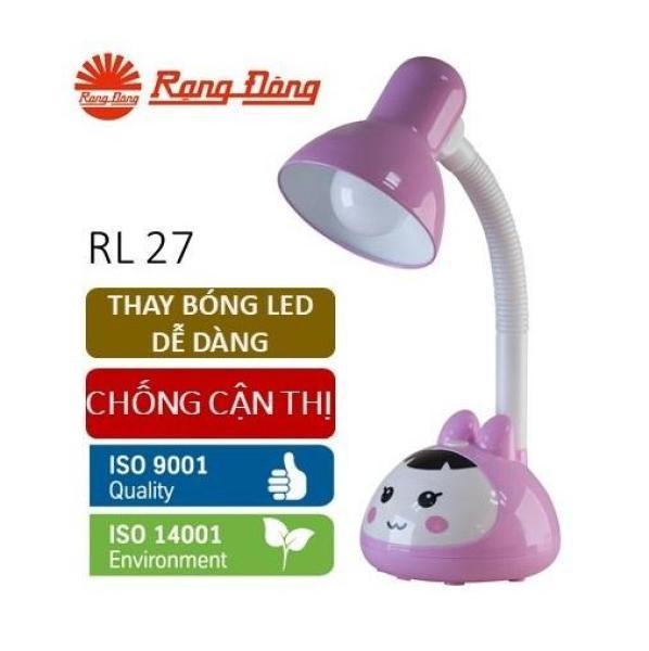 Đèn bàn LED Rạng Đông 5W bảo vệ thị lực, thay bóng dễ dàng, không tia UV & cực tím
