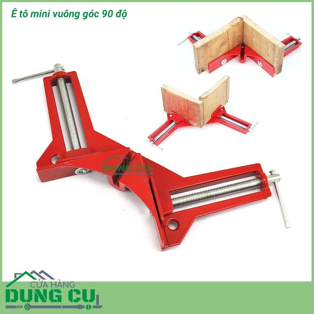 Hình ảnh Ê tô mini vuông góc 90 độ dùng trong sản xuất gia công đồ gỗ, cơ khí