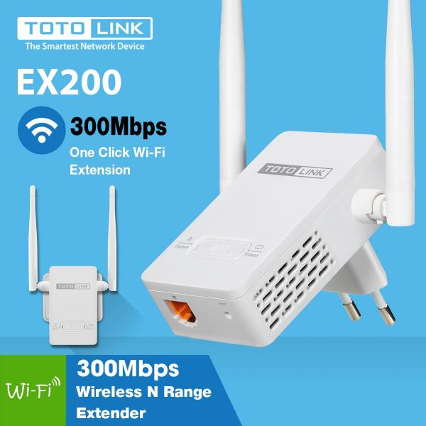 Bảng giá Thiết bị kích sóng Wifi TOTO LINK-EX200 Phong Vũ