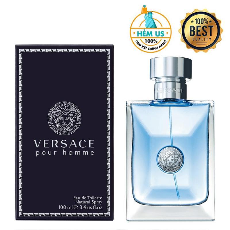Nước hoa nam cao cấp Versace Pour Homme For Men Eau de Toilette 100ml