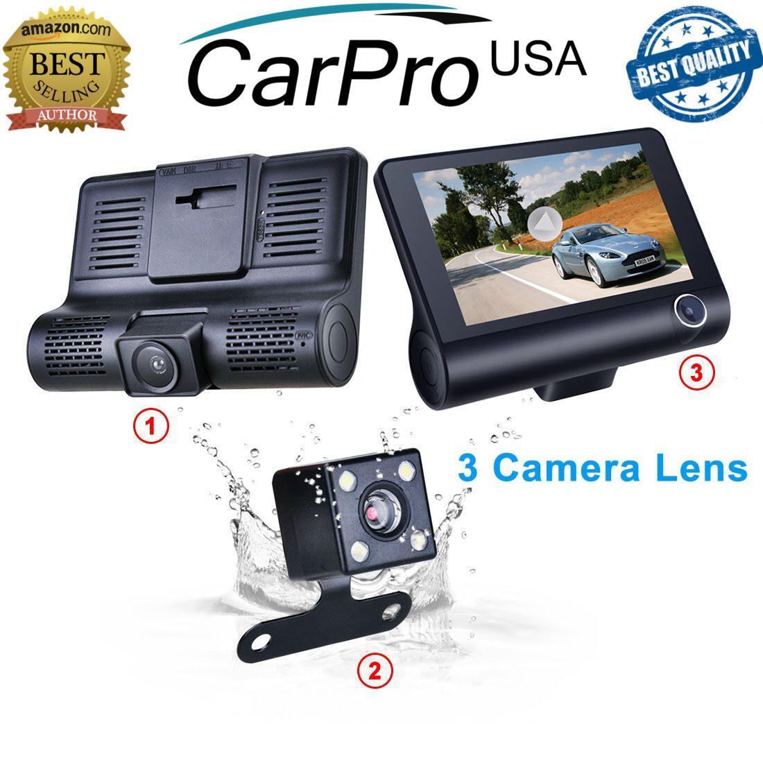 Camera Hành Trình Cho Ô Tô Cao Cấp Với 3 Camera By Shopgiagoc.