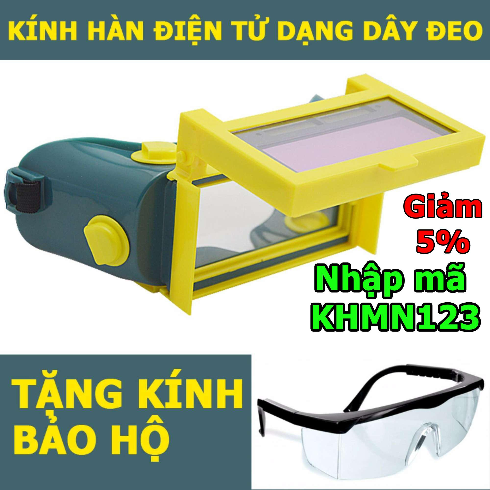 Giá Bán Kinh Han Điện Tử Tự Động Cảm Biến Anh Sang Kh02 Tặng Kinh Bảo Hộ Rẻ