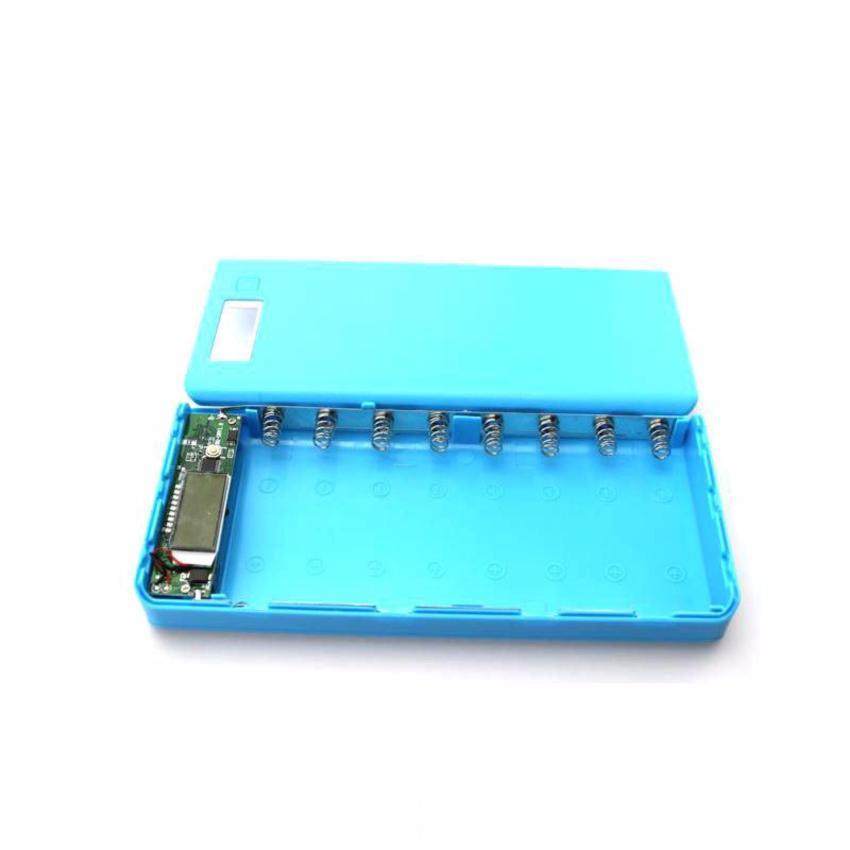 Hình ảnh Box sạc dự phòng 8 cell (màu xanh - không gồm pin)