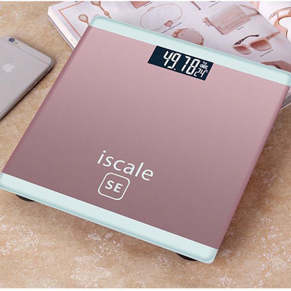 Hình ảnh Cân sức khỏe điện tử cho cả gia đình 180kg kiểu dáng iphone ISCALE