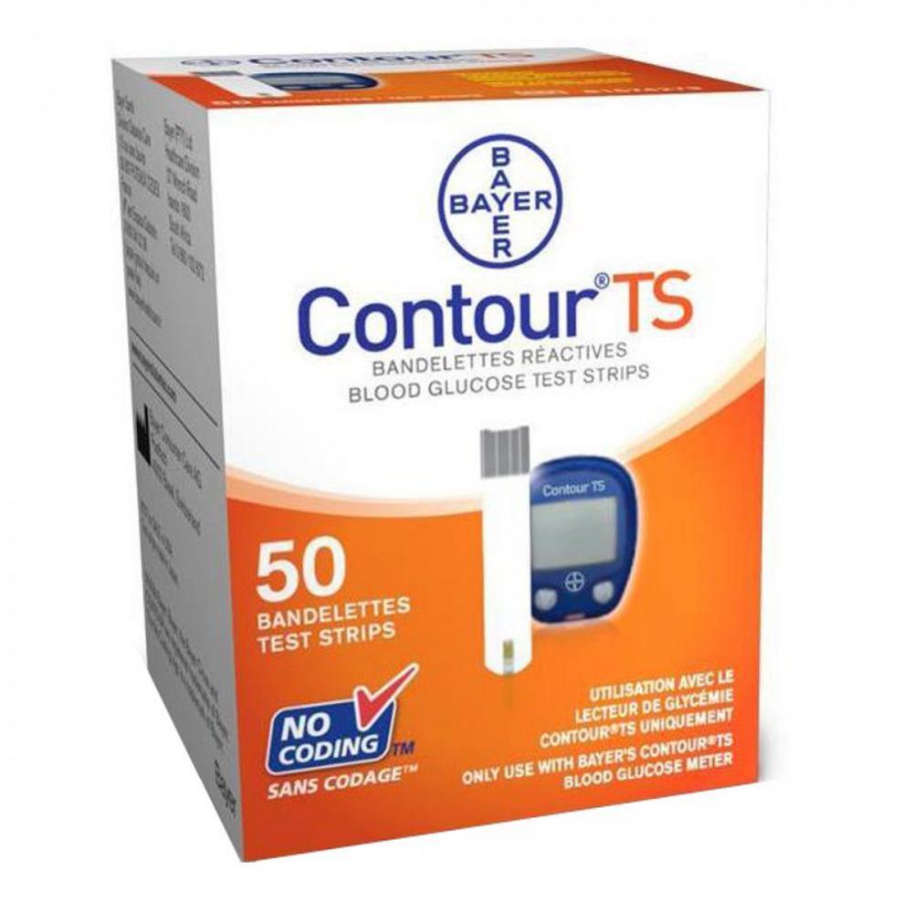 Que thử đường huyết Contour TS hộp 50 que