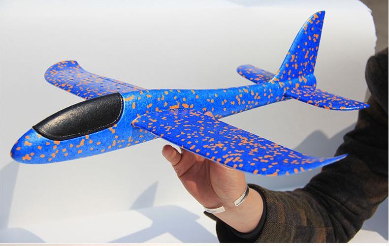 Hình ảnh Máy bay tiêm kích phi tay cỡ lớn 35cm*35cm (màu tùy chọn)