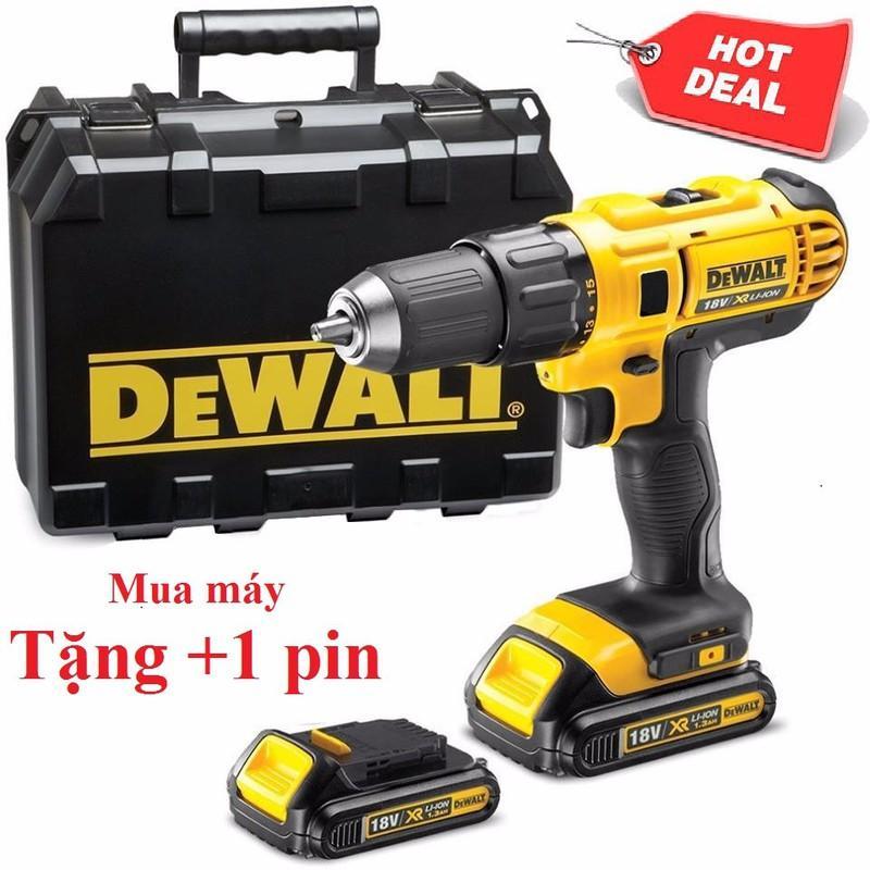 Máy khoan vặn vít dùng pin DeWalt 18v ++ Tặng 1 pin - ABG shop