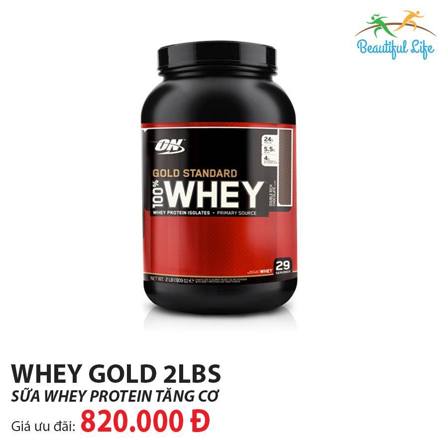 Thực Phẩm Bổ Sung Optimum Nutrition Whey Gold Standard 2Lbs Siêu Ưu Đãi tại Lazada
