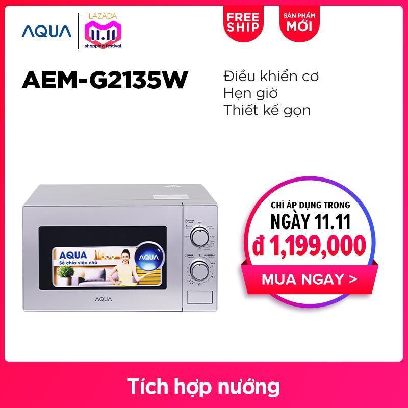 Lò vi sóng AQUA AEM-G2135W - Hàng phân phối chính hãng
