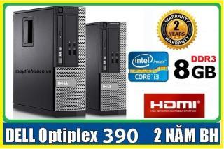 Cây máy tính để bán Dell Opitplex 390 ( core i3 8G 500G ) Có HDMI , Tặng USB wifi , dây HDMI , Bàn di chuột - Hàng nhập khẩu , Bảo hành 24 tháng thumbnail