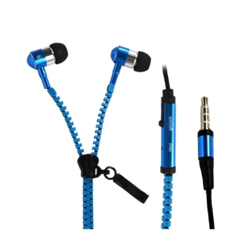 Tai nghe Cao cấp Zipper khóa kéo chống rối (màu sắc ngẫu nhiên)