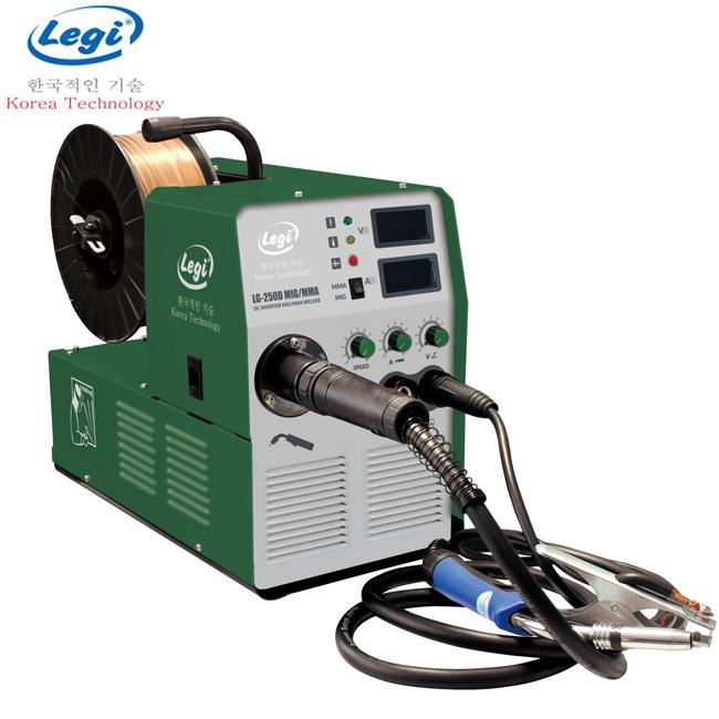 Máy hàn điện tử Legi LG-250 MIG/MMA 2 chức năng hàn que và khí