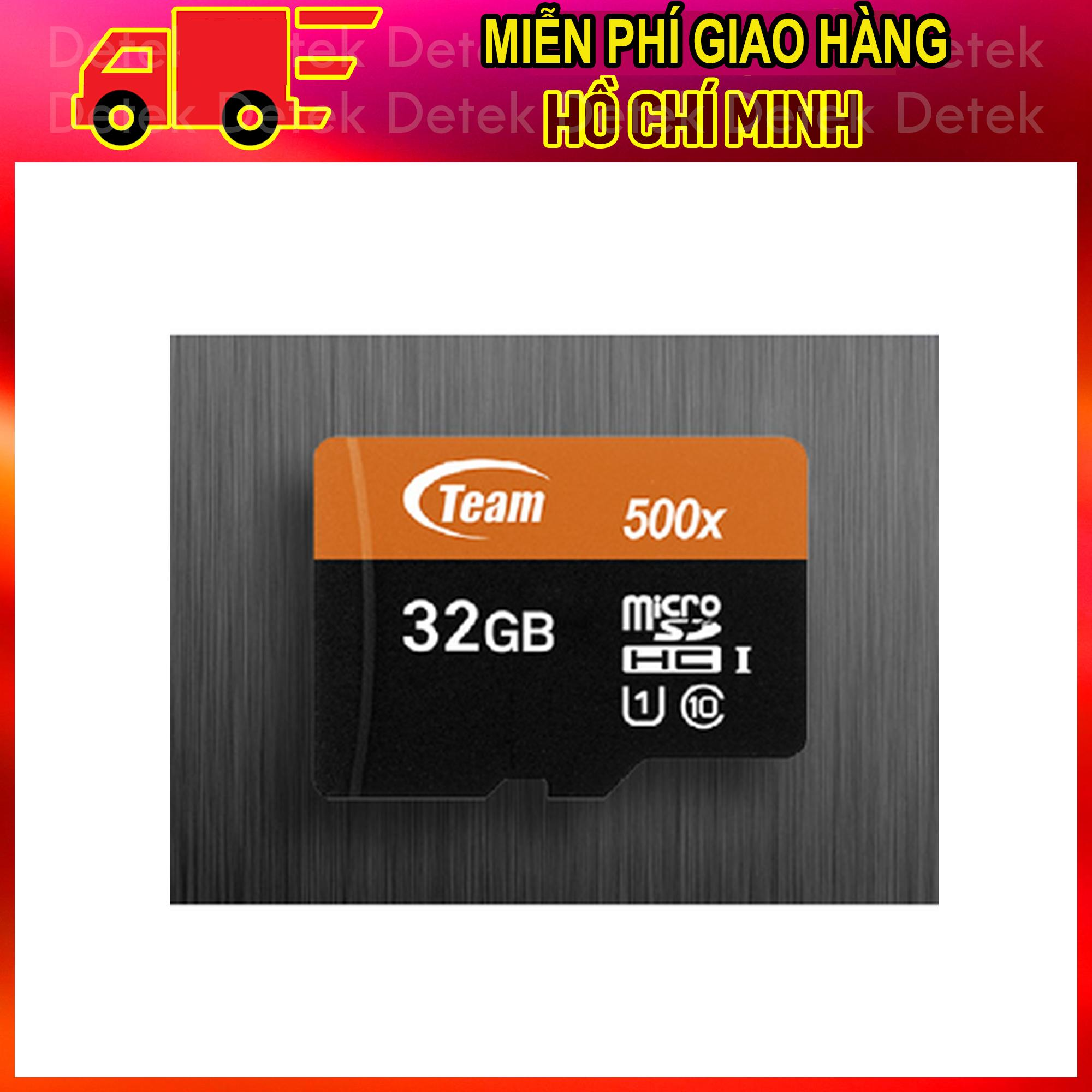 Thẻ nhớ MicroSD Team UHS-I 32Gb (Nhanh hơn Class 10) tặng kèm Adapter
