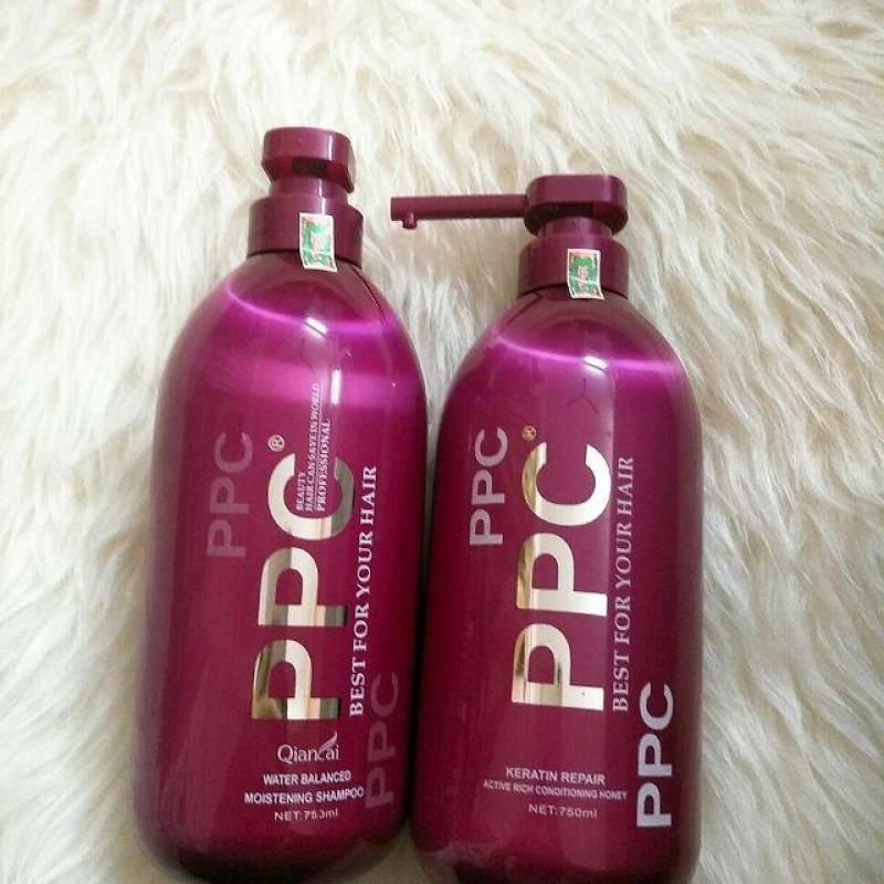 Cặp gội/xả phục hồi tóc hư tổn PPC Best For Your Hair 750ml (1 gội + 1 xả) nhập khẩu