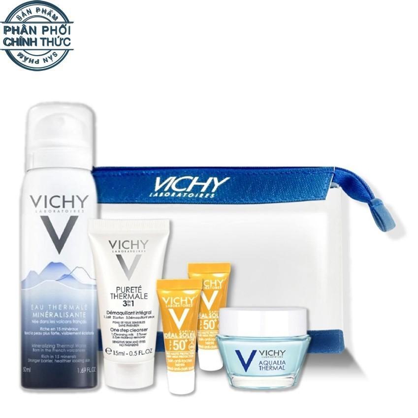 Bộ dưỡng ẩm toàn diện Vichy Aqualia Bag