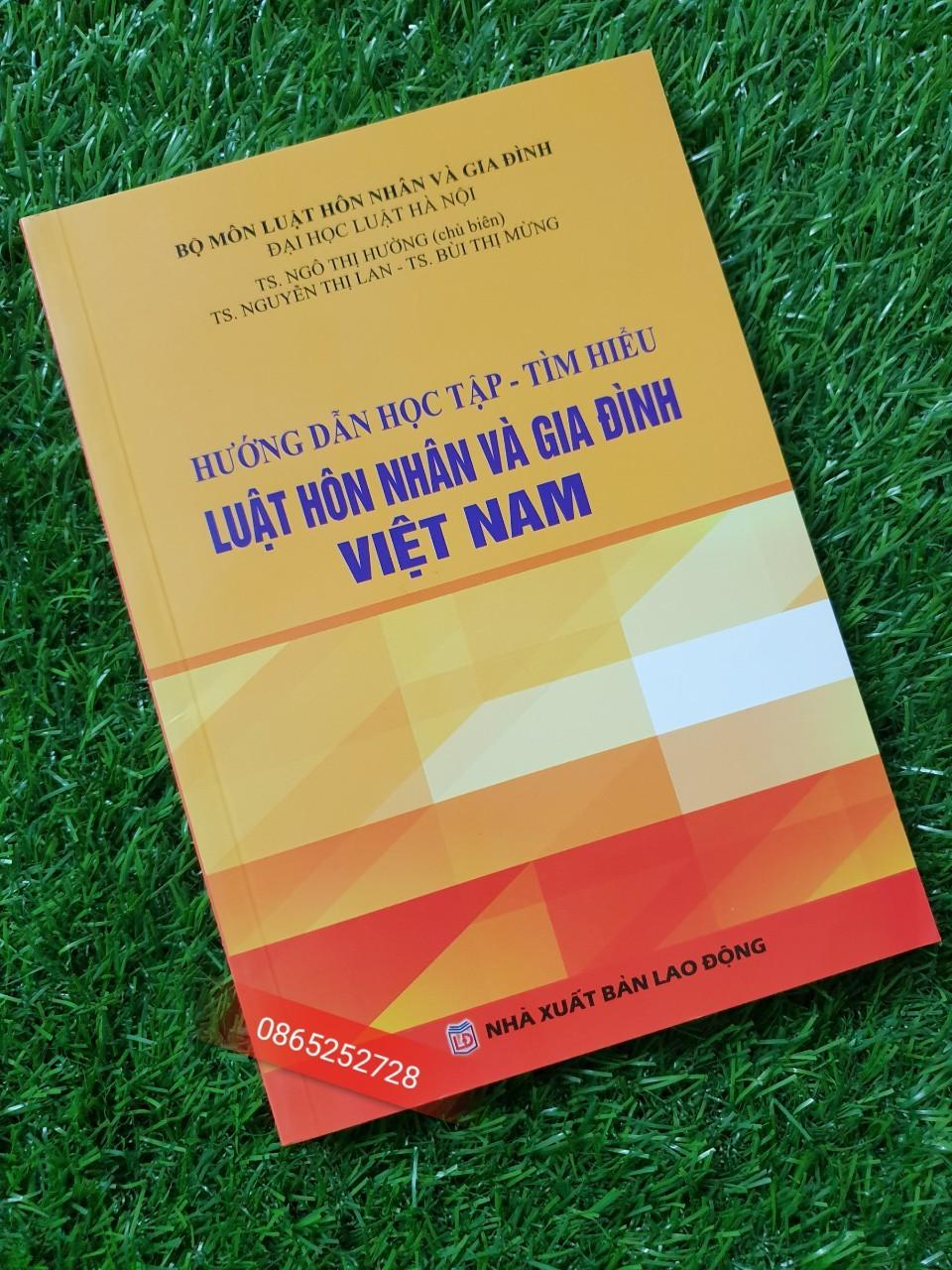 Mua Sách Luật - Hướng dẫn học tập và tìm hiểu - Luật hôn nhân và gia đình Việt Nam