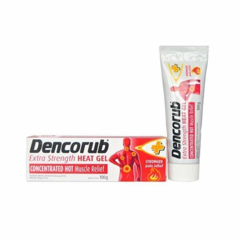 Kem xoa bóp Dencorub Heat Gel bôi chống viêm khớp và đau cơ cực hiệu quả của Úc tốt nhất