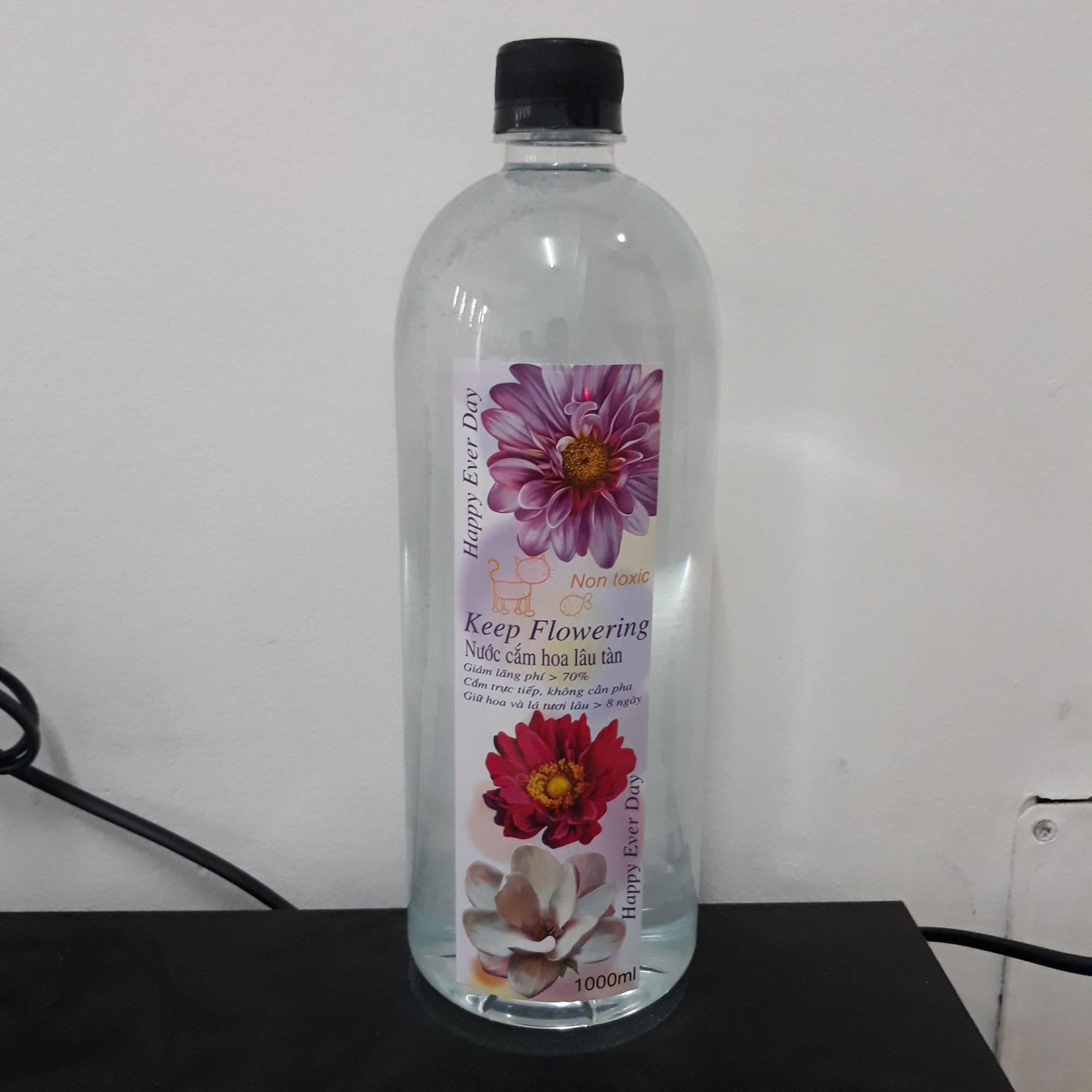 Nước giữ hoa lâu tàn KEEP FLOWERING 1000ml