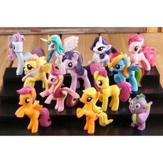 Bộ ngựa Pony 12 con giáp thumbnail