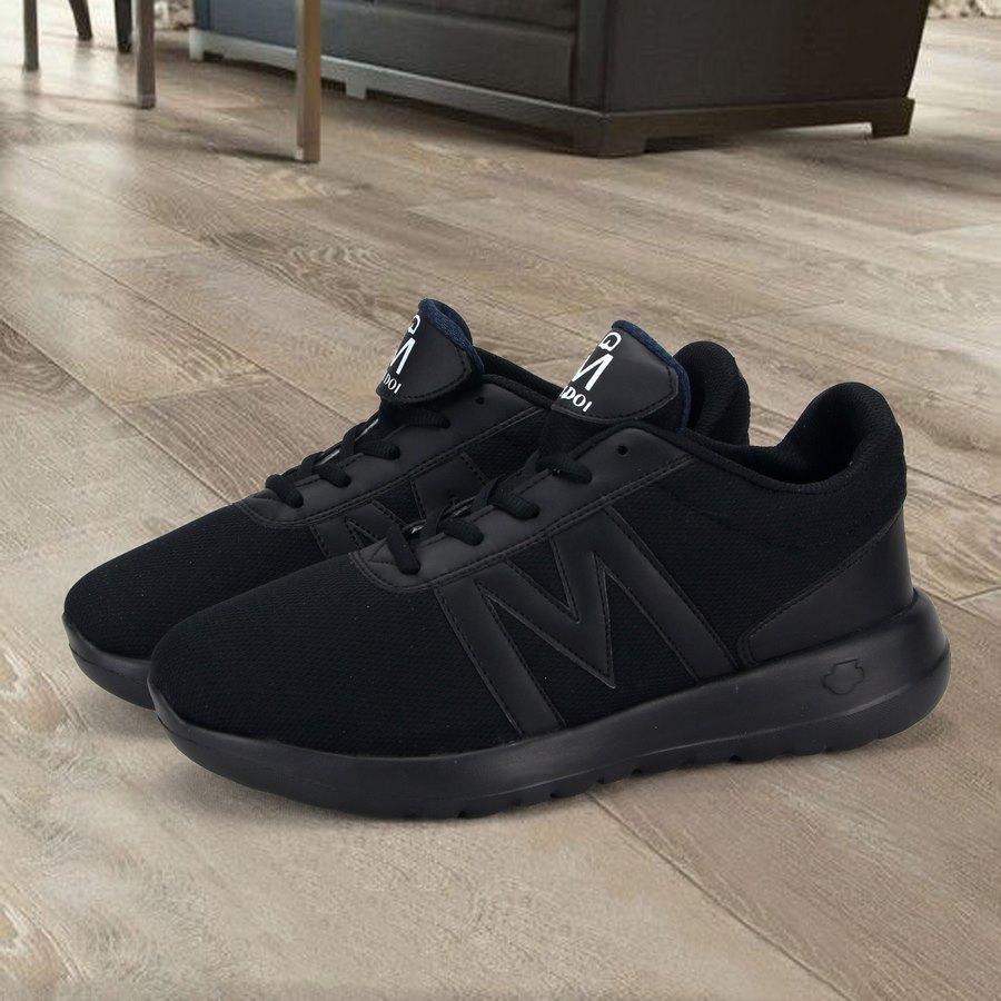 Giày thể thao nam Muidoi G119 (Full đen) giày nam đẹp giày nam đế độn siêu nhẹ