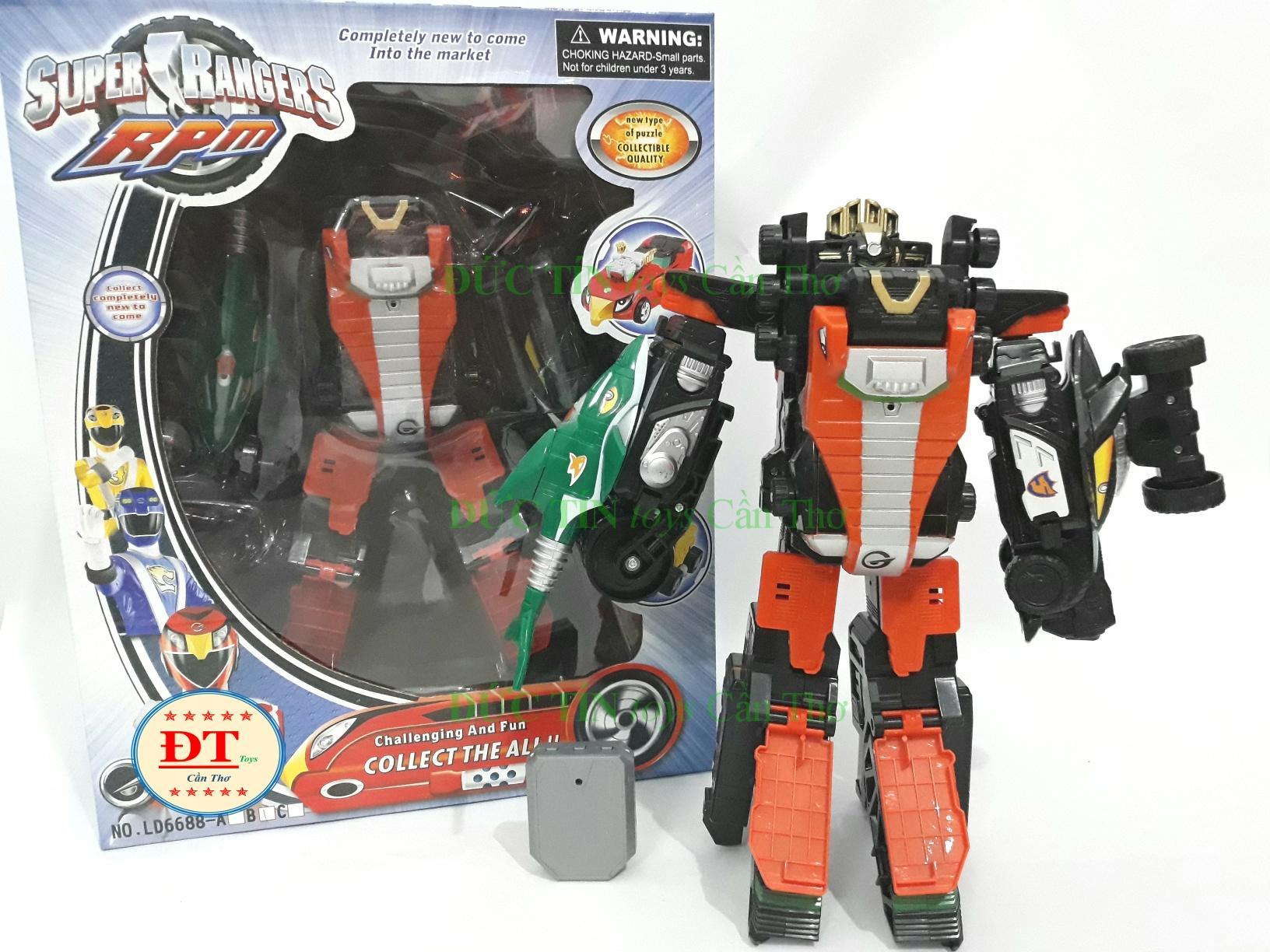 ĐỒ ChƠi HỘp RÁp Robot CƠ ĐỘng BiẾn 3 Xe CÁ MẬp LoẠi To By Đức Tín Toys Cần Thơ.