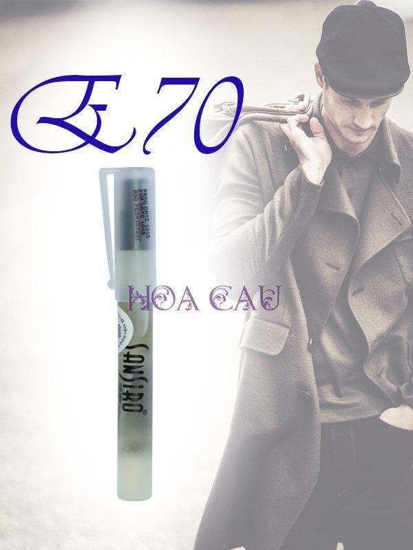 NƯỚC HOA SANSIRO E70 GIO. ARMANI BLACK CODE