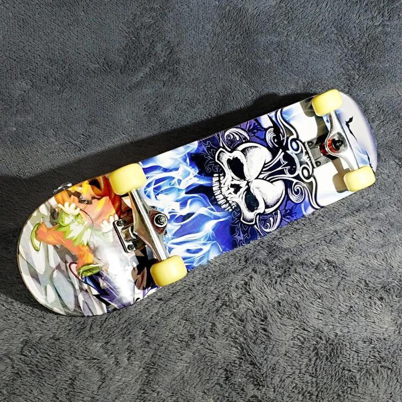 skate board hình đầu lâu Mã: SK0055