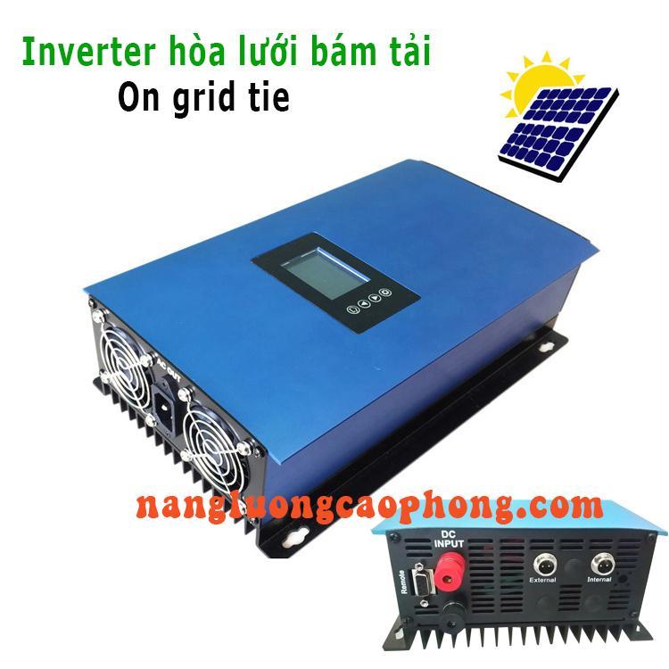 Bộ hòa lưới pin mặt trời bám tải 1000W - grid tie inverter limiter SUN1000W