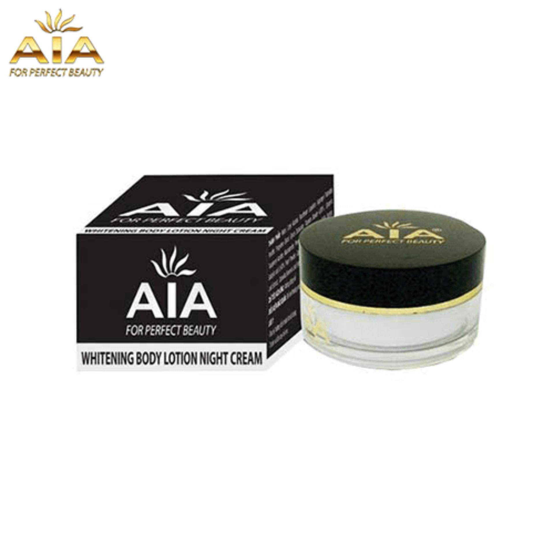 Mỹ Phẩm AIA – Kem Dưỡng Da Toàn Thân Ban Đêm, Whitening Body Lotion Night Cream AIA (150g)